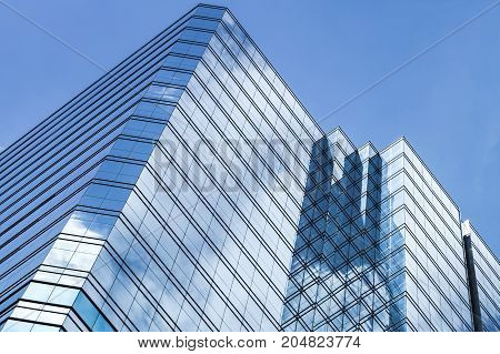 Office Tower Made Of Glass And Steel