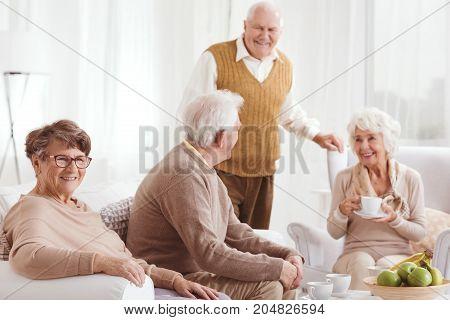 Two Couples Of Elders
