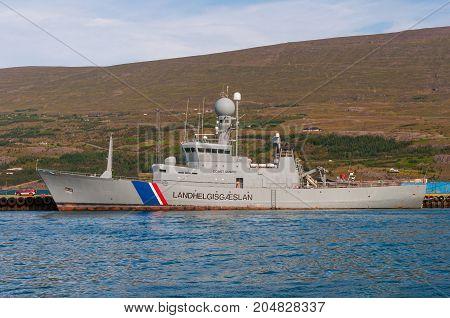Icelandic Coast Guard Ship Tyr