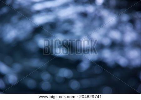 blue water bokeh texture background, blur concept