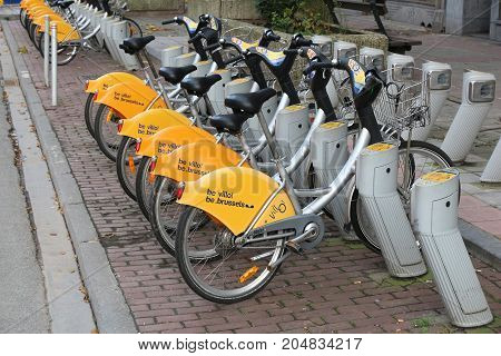 Brussels Bicycle Sharing