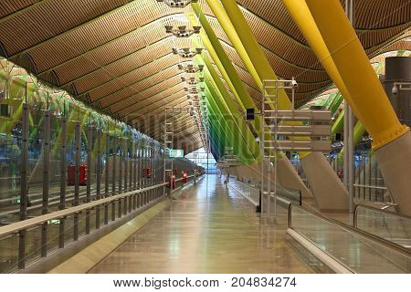 Madrid Airport T4