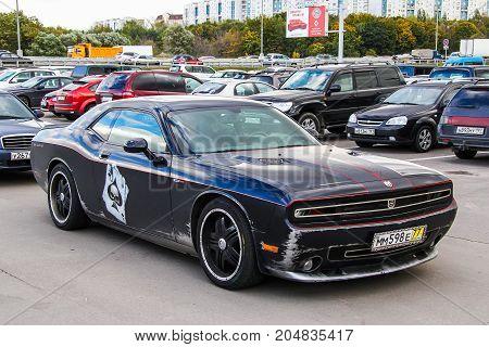 Dodge Challenger Hennessey Hpe650