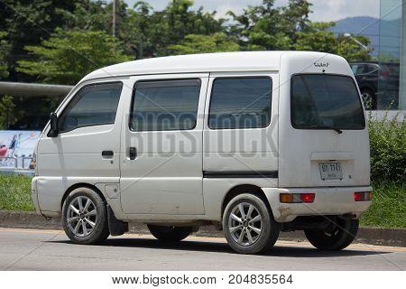 Private Car, Mini Van Of Suzuki Super Carry Van.
