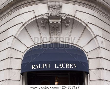 Ralph Lauren Store In Paris