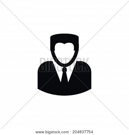 Man Vector Element Can Be Used For Person, Male, Man Design Concept.  Isolated Person Icon.