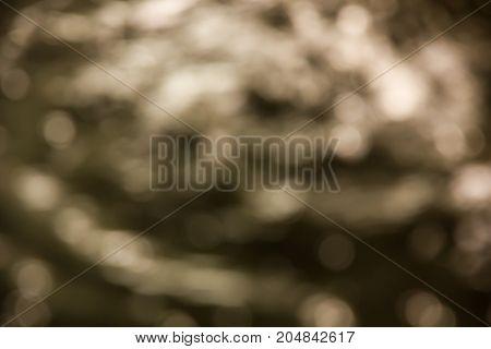 yellow water bokeh texture background, blur concept