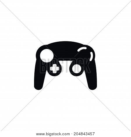 Controller Vector Element Can Be Used For Joypad, Joystick, Controller Design Concept.  Isolated Gamepad Icon.
