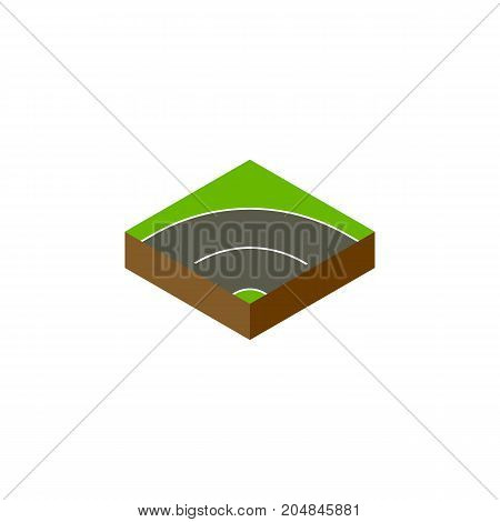 Bitumen Vector Element Can Be Used For Asphalt, Road, Bitumen Design Concept.  Isolated Way Isometric.