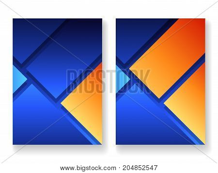 Cover template for books, magazine, brochures, corporate presentations, annual reports, posters, portfolios, banner website etc. Format A4 Vector illustration