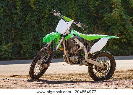Green Cross Motorcycle