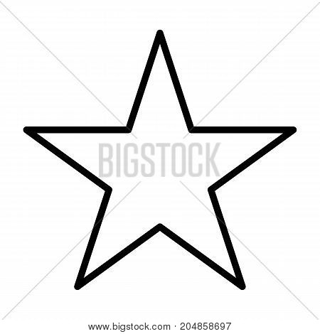 Star line icon. 96x96 for Web Graphics and Apps. Simple Minimal Pictogram. Vector