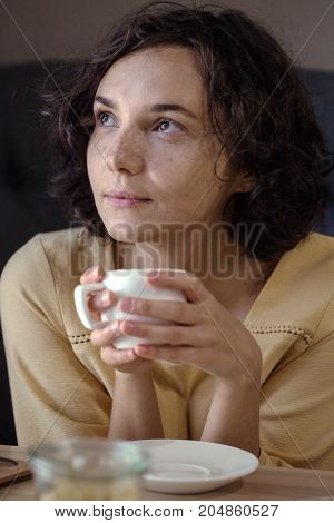 Girl In The Coffee House