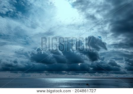 Stormy ocean, abstract natural backgrounds for your design.