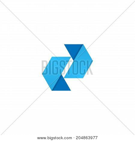Abstract corporate logo design template vector illustration element for banner or business card