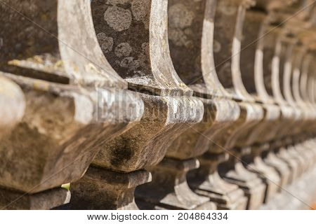 Detail Balustrade With Column