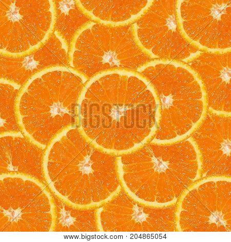 Orange fruit. Orange  fresh slices orange background
