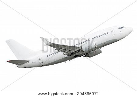 Aircraft Isolated On A White Background