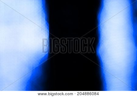 The Blurred  Black ,blue And White Hexagonal  Background