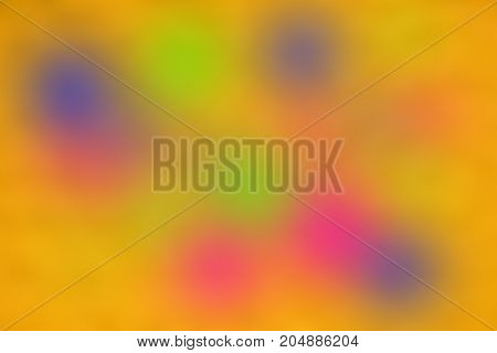 The Beautyful Colorful Blurry And Glow Blackground