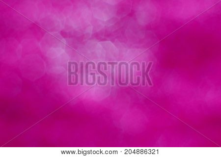 The Complex Blurred Of Pink And White Hexagonal  Background