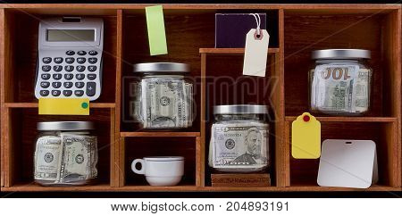 Concept of accumulation of money for various needs