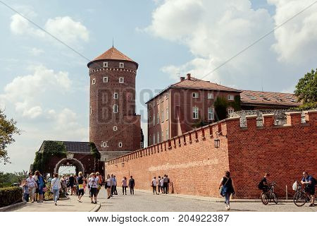 Architectural Complex Of Wawel In Krakow