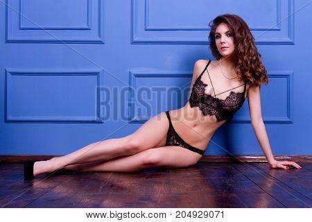 Attractive Girl In Lingerie