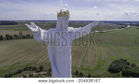 Jesus Christ Monument, Swiebodzin, Poland