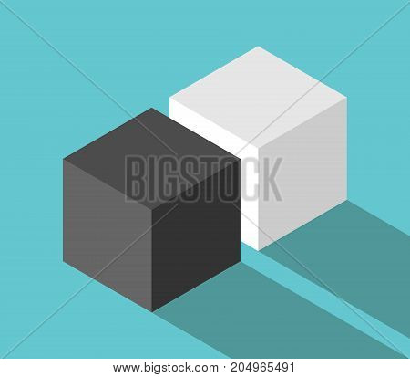 Isometric Couple Of Cubes