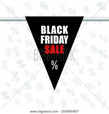 Black Friday Sale Icon In Black Illustration