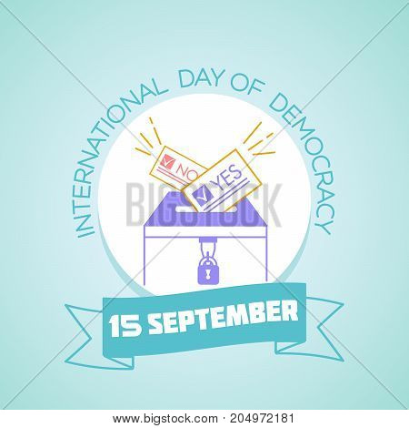15 September International Day Of Democracy