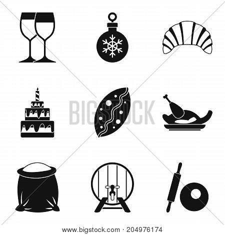 Generosity icons set. Simple set of 9 generosity vector icons for web isolated on white background