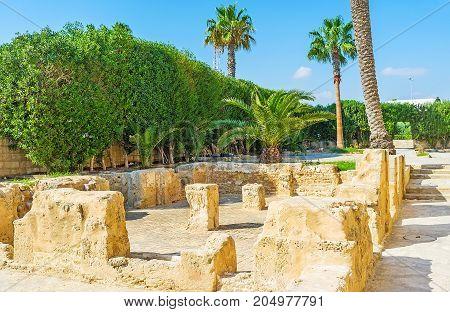 Roman Thermae In Monastir