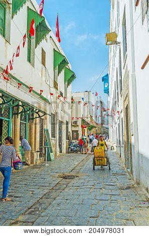 The Walk In Tunis Medina