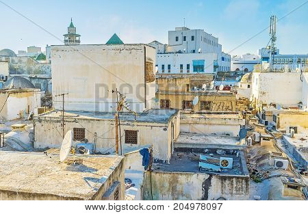 The Walk Along The Roofs Of Tunis Medina