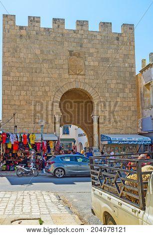 The Gate Of Monastir Medina