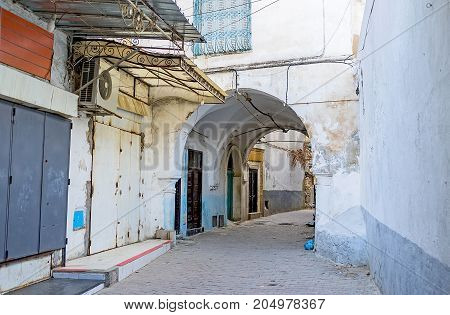 To Get Lost In Tunis Medina