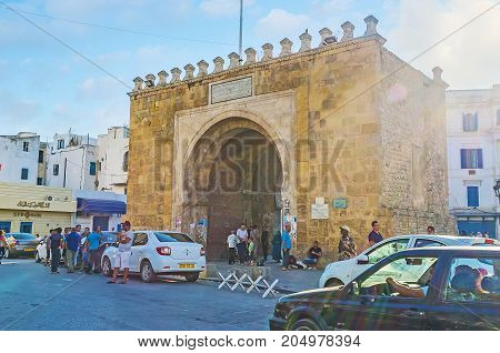 The Gate Of France In Tunis