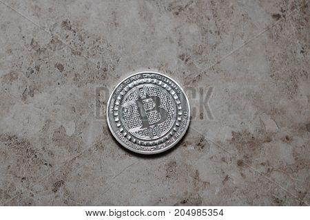Bitcoin Coin Physical Money