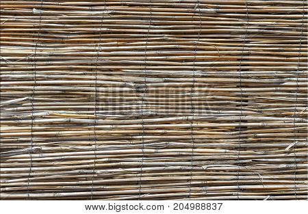 old bamboo blinds thin horizontal background texture