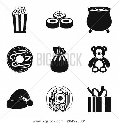 Benevolence icons set. Simple set of 9 benevolence vector icons for web isolated on white background