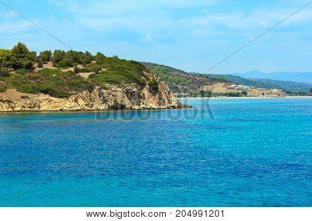 Sithonia Coast, Greece.
