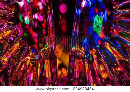 Abstract: Fantasy Background of Bright and Colorful Light