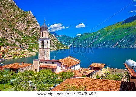 Limone Sul Garda Waterfront And Lake View