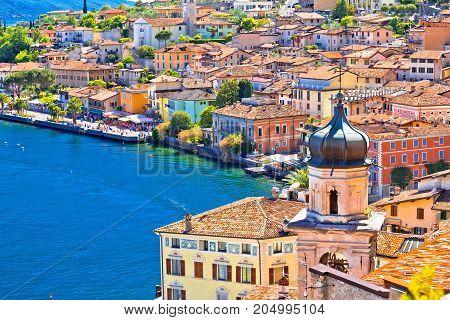 Limone Sul Garda Waterfront View