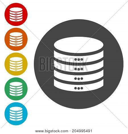 Database sign icon, Database Icon, simple vector icon