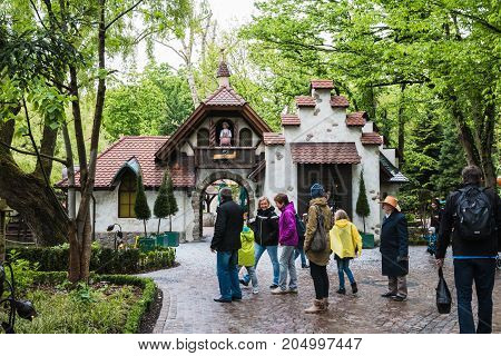 Nice House In Part For Children In Europe Park In Germany In 2017