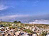 Mountain landscape. Crimea. Ukraine. poster