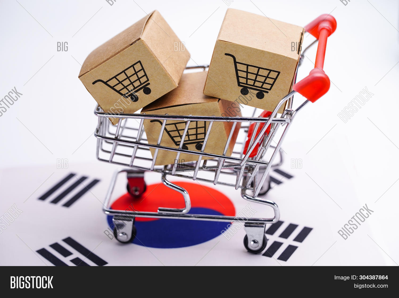 Box Shopping Cart Logo Image & Photo (Free Trial) | Bigstock